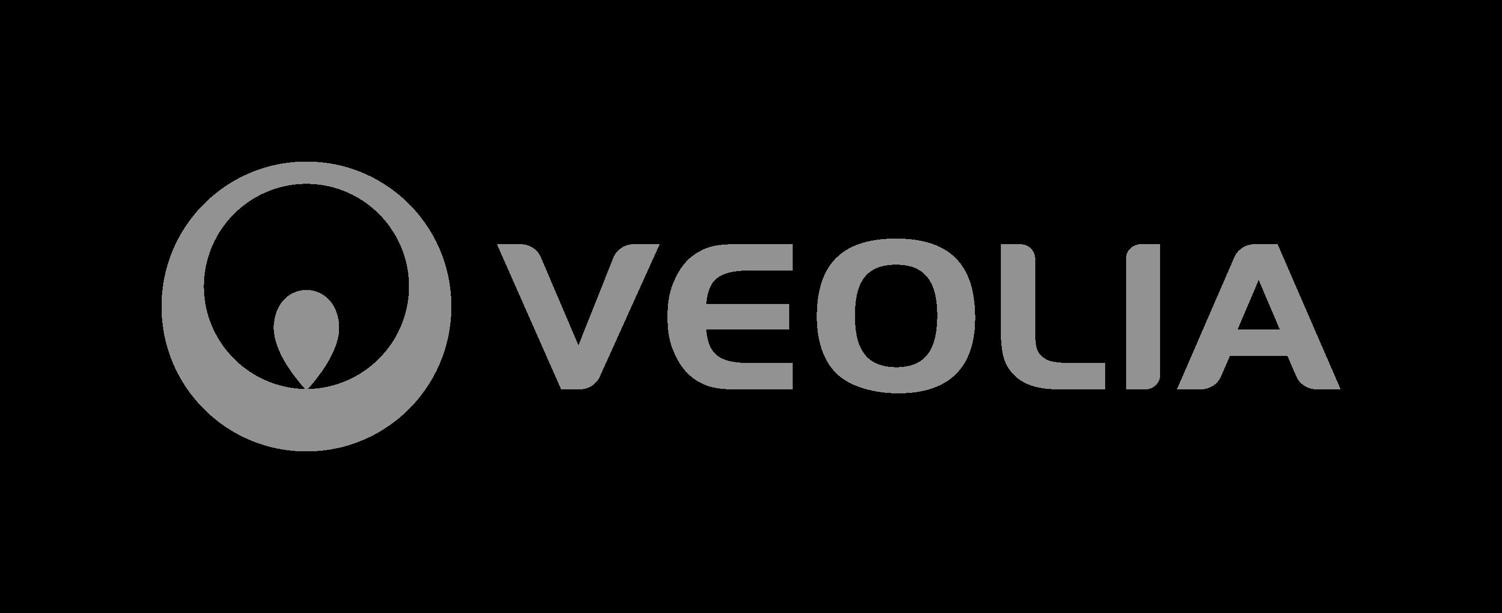 VEOLIA logo noir et blanc