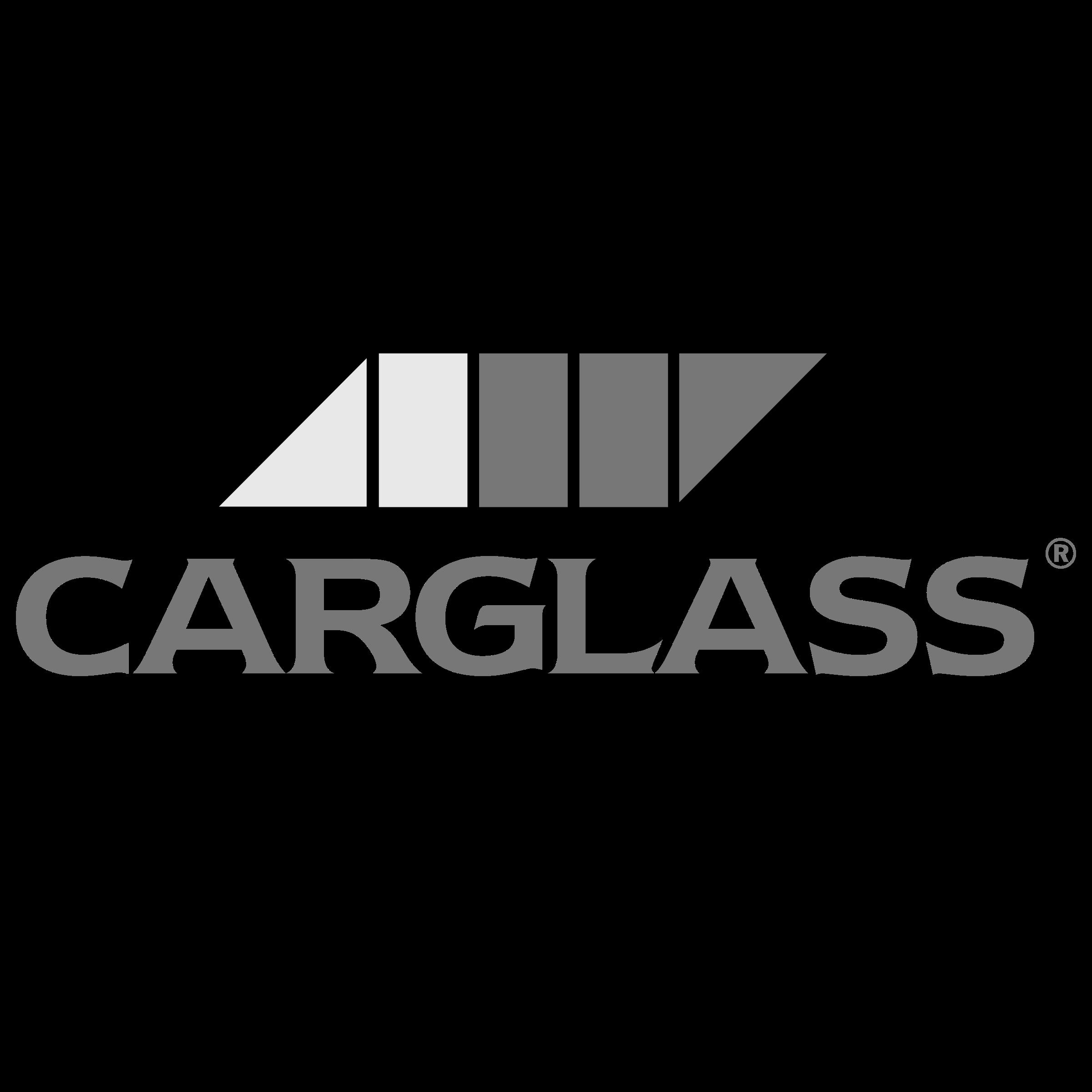 Carglass logo noir et blanc