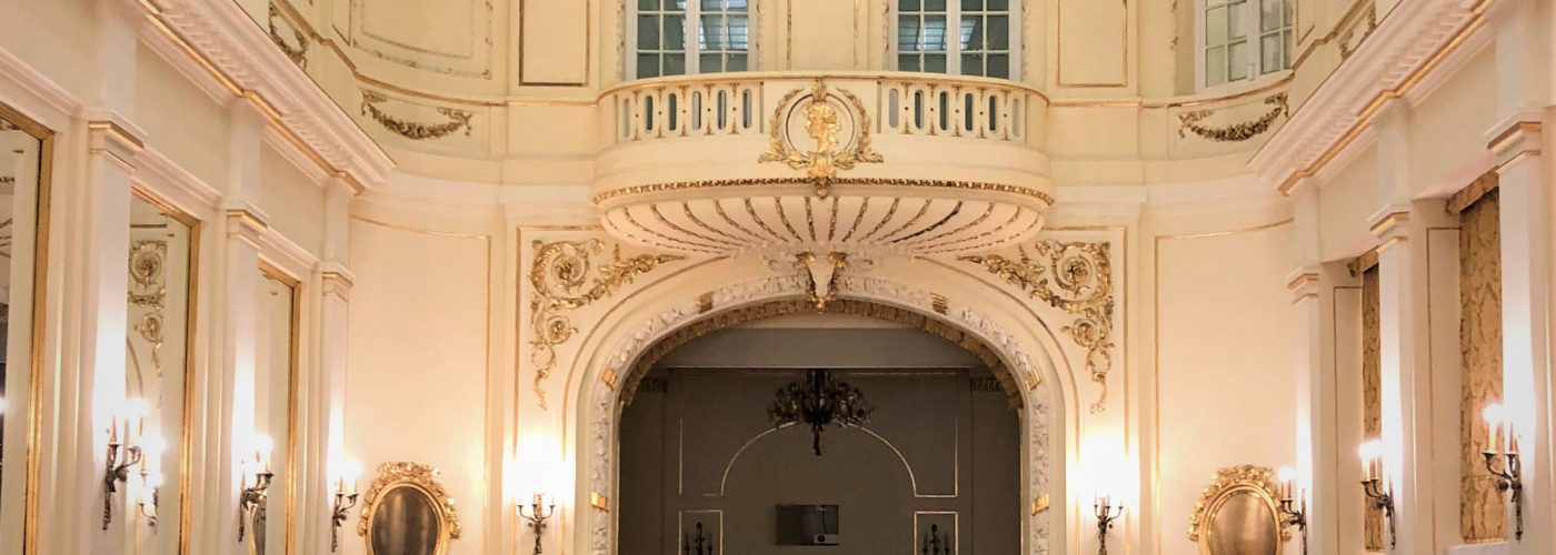 photo Courtage événement salle chateau à la française